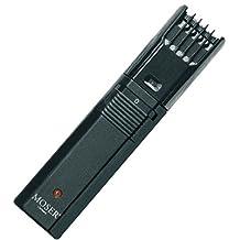 Moser Classic A - Recortadora, peine-guía con 7 longitudes de corte, 2-21 mm, color negro
