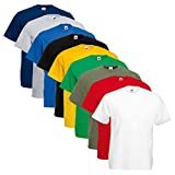 Set 5 T-Shirt Fruit Of The Loom - Fruit of the Loom - amazon.it