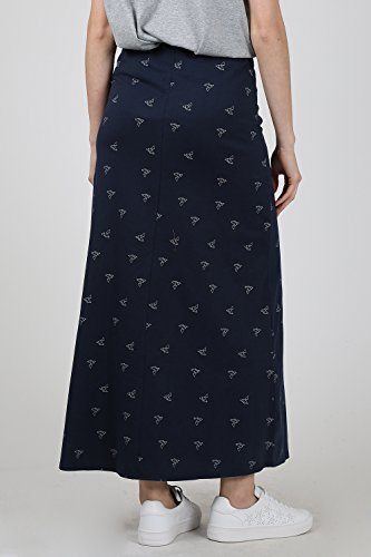 Tiralahilacha Damen Rock Casual Skirt Blau