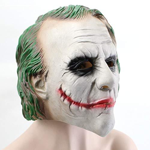 Dodom Realistische Latex Alter Mann Maske Männliche Verkleidung Halloween Kostüm Kopf Gummi Erwachsene Partei Masken Maskerade Cosplay Requisiten & (Einfach Männliche Super Halloween-kostüme)