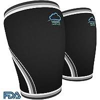 Modvel Sportliches Knee Sleeve 7mm (1 Paar) für Männer und Frauen – Orthopädisches Design für Schmerzlinderung... preisvergleich bei billige-tabletten.eu