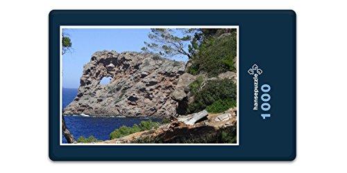 Preisvergleich Produktbild hansepuzzle 22093 Reisen - Mallorca,  1000 Teile in hochwertiger Kartonbox,  Puzzle-Teile in wiederverschliessbarem Beutel.