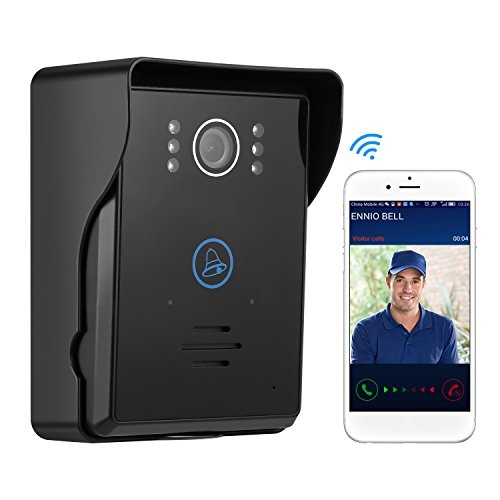iCoco TS-IWP708 Wifi Digital Wireless Video Tür Bell, Schwarz Test