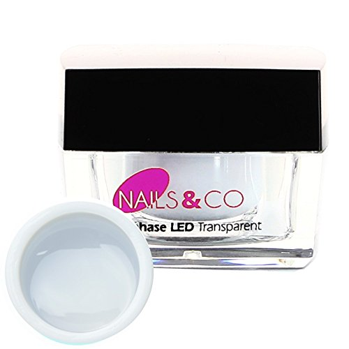 Nails & co - Gel monophase UV LED Transparent Nails & Co - - 15 ml