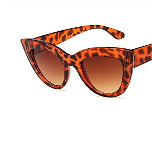LBY Damen Polarisierte Sonnenbrille Cat Eye Sonnenbrille Piloten Wanderer Sonnenbrille Sonnenbrille für Damen (Farbe : Gray)
