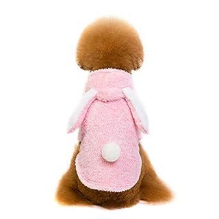liuhoue Hasenohren Hund Kleidung, Winter warm Kreative Haustier Kleidung-A L