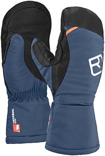 Ortovox Herren Swisswool Freeride Mitten Handschuhe, Night Blue, M