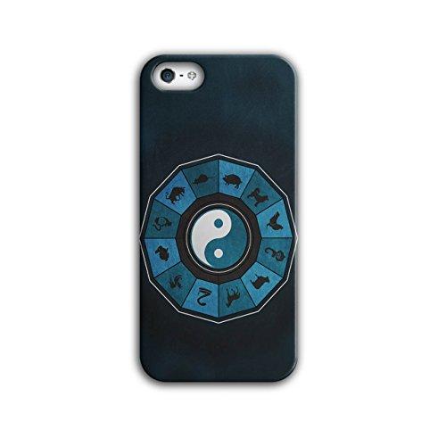 Männer Kostüm Nationalen Chinesischen Für (Chinesisch Tierkreis Tier Schild iPhone 5 / 5S Hülle |)