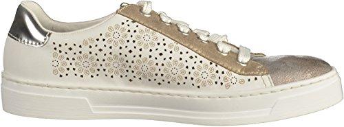 Rieker L8516 Damen Sneakers Weiß
