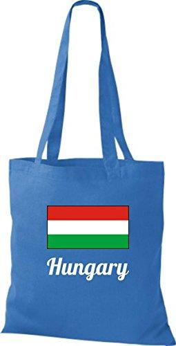 Camicia Di Stoffa Di Cotone Borsa Di Tela Paese Iuta Ungheria Ungherese Color Rosa Royal