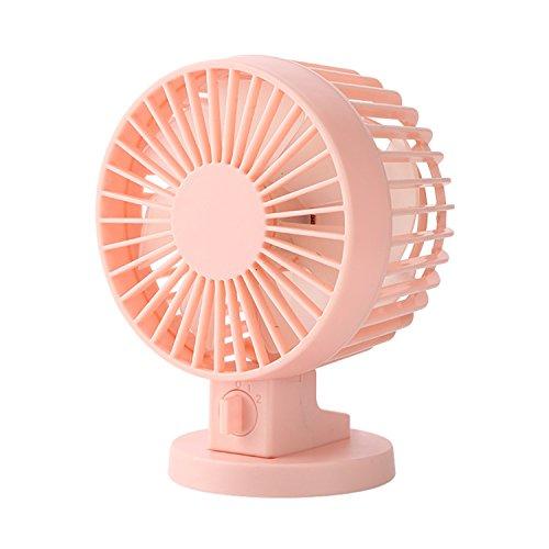 Preisvergleich Produktbild eriotpy Kühllüfter, tragbar, ultra leise, für PC Laptop Notebook Power Bank (Pink)