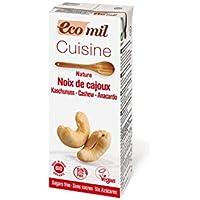 Ecomil Crema Vegetal Bio Cuisine Anacardo, 200 ML
