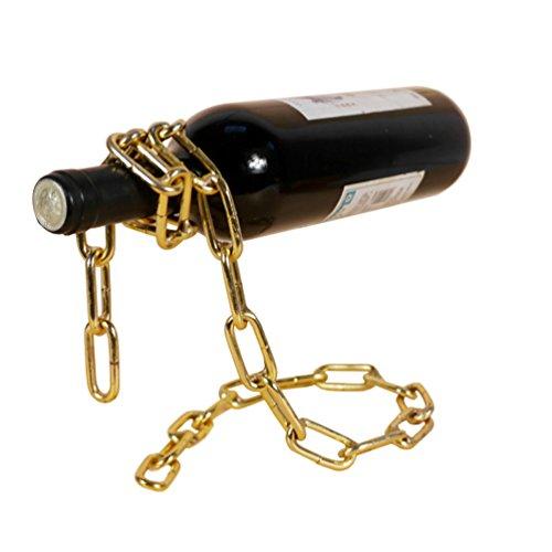 Sport Tent-Flaschenhalter lustiges Weinregal, Magische Kette Weinflaschenhalter Wine Bottle Holder...