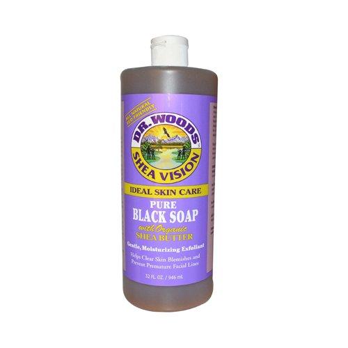 Reine Kastilien Seife (Dr. Woods, Shea Vision, reine schwarze Seife, 32 Flüssigunzen (946 ml) [Misc.])