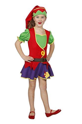 Wilbers Kinder Kostüm Klabauter Kobold Zwerg Gnom Karneval Gr.140