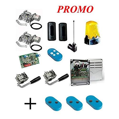 Came Promo Kit FROG AE Automazione Cancelli Battente Motore Interrato 3,5 m per Anta con Encoder 001U1924 (3 Telecomandi Bicanale...