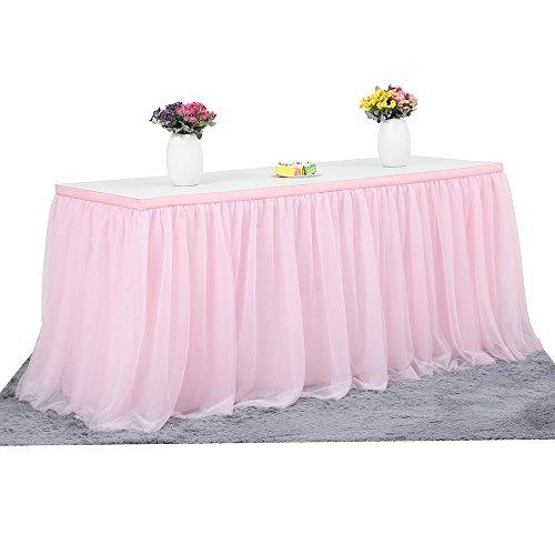 6ft Mantel de mesa para fiestas, banquetes de boda, decoración del hogar,...