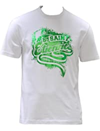T-shirt ASSE - Collection officielle AS SAINT ETIENNE - Football club Ligue 1 - Taille adulte Homme