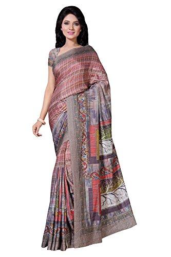 Applecreation Women\'s Art Silk Saree (Multi-Coloured_1Ild9115_Free Size)