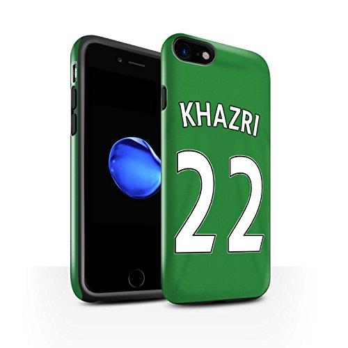 Offiziell Sunderland AFC Hülle / Glanz Harten Stoßfest Case für Apple iPhone 7 / Larsson Muster / SAFC Trikot Away 15/16 Kollektion Khazri