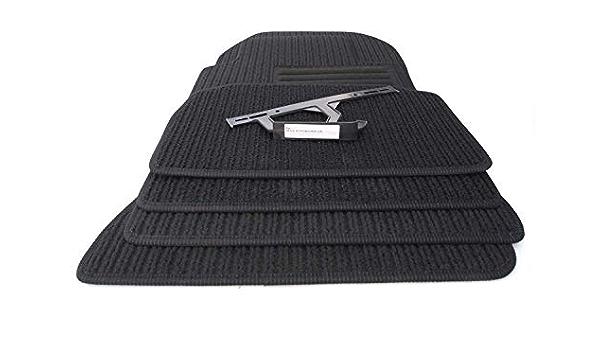 Kh Teile Fußmatten W124 Cabrio A124 Original Qualität Rips Autoteppich 4 Teilig Schwarz Auto