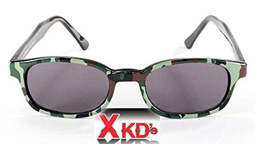 KDS Echte Sonnenbrille X-KD'S Camo 1021-Bikers