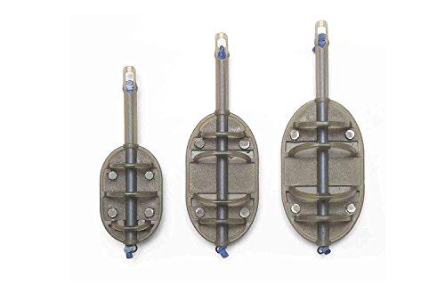 Preston Elasticated Flat Method Feeder 15-80 Gramm Gr. L size 15 Gramm (Angeln Preston)