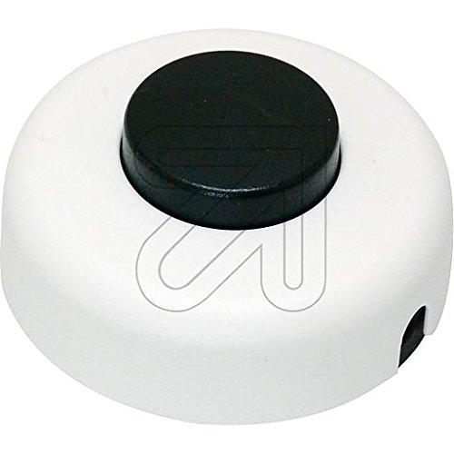 Schalter Zwischenschalter Kleinschalter Fußtret Schalter Ausschalter weiß