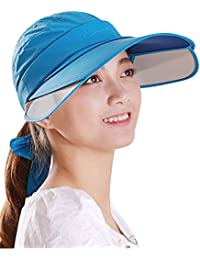 Menschwear mujer Hats Summer Sun hats UV Protection Caps Foldable Outwear Caps
