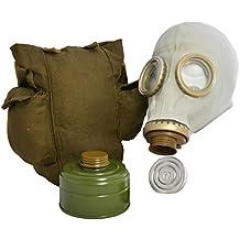 Originale sovietica russa GP5maschera a Gas con filtro, Borsa e lenti Anti-appannamento in grigio o nero