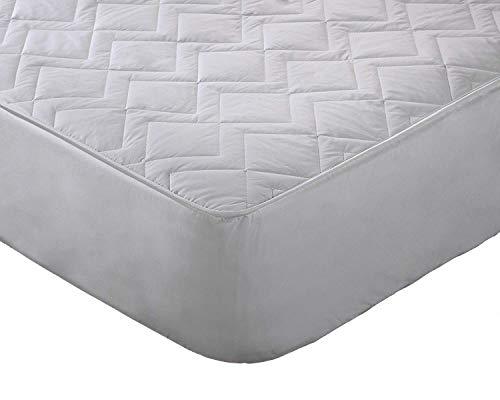 Sleep Company - Protector de colchón con tecnología de relajación de Aire para Verano con Falda de 38 cm de Profundidad