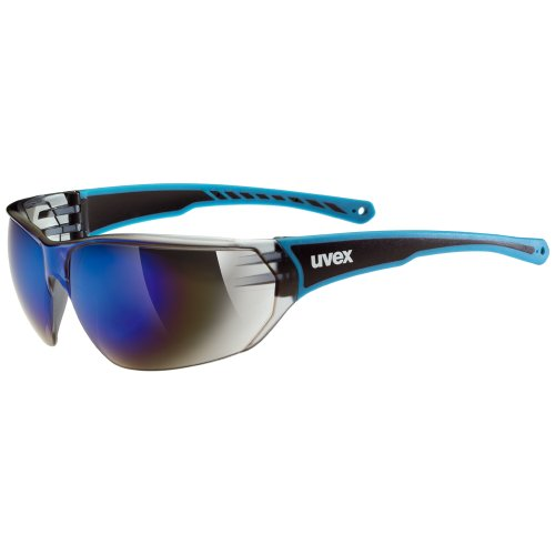 Uvex Sportstyle 204 - Gafas unisex, color azul / negro