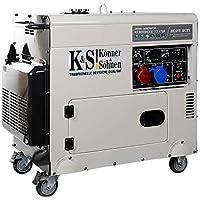 VORVERKAUF!! Könner&Söhne Diesel Leise Generator 230V 400V 7,5KW 9200HDES-1/3 ATSR Aggregat