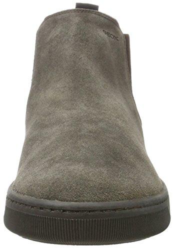 Geox Rikin, Stivali Chelsea Uomo Marrone (Mud)