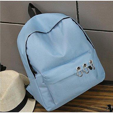 Frauen Laptop Tasche PU All Seasons Casual Runde Reißverschluss Grau Schwarz Blau Blue