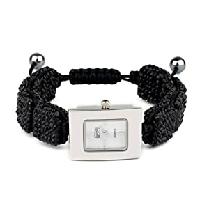 Eton 3020L-BK – Reloj analógico para Mujer de Otros Materiales Madre Perla