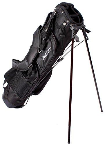 Glof sac de transport pour l'espace de rangement avec 6 compartiments (noir)