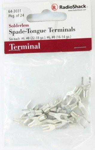 RadioShack Solderless Spade-Tongue Terminals by RadioShack