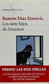 Los siete hijos de Simenon   by Ramon Diaz Eterovic par RAMON DIAZ ETEROVIC