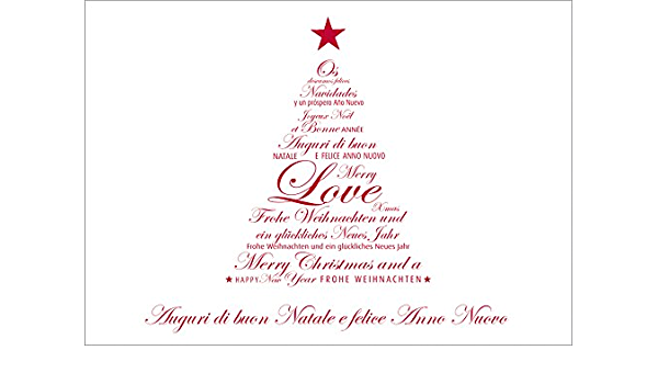 Cartoline Buon Natale E Felice Anno Nuovo.Auguri Di Buon Natale E Felice Anno Nuovo Con Busta 4 Amazon It Cancelleria E Prodotti Per Ufficio