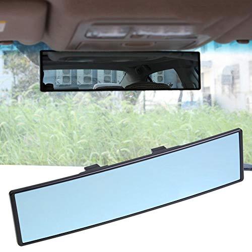 Panorama-Rückspiegel Auto-Innenspiegel Universal-Innenspiegel PKW Blendschutz Winkelverstellung Rückspiegel Blauer Spiegel