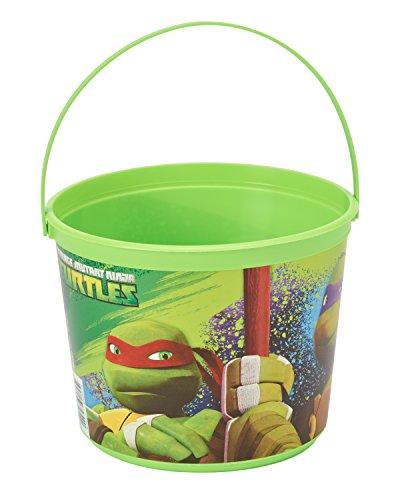 Teenage Mutant Ninja Turtles Favor Container, Party Supplies