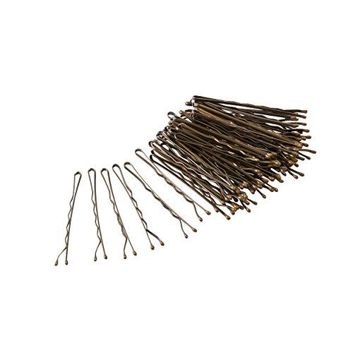 Glamour Style Haarnadeln, Bronze, 60 Stück -