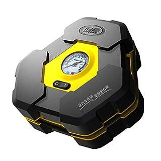 Portable DC 12V Inflatable Pump Triangular Design Car Air Compressor Auto Wheel Pressure Monitor For Vehicle Bike Motor Ball