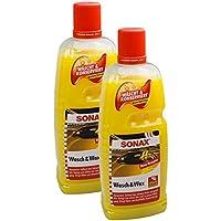 2x Sonax 03133410Lavado & Wax lacado Cuidado konservierung 1L