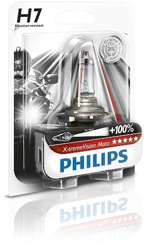Philips 12972XVBW Ampoule de phare de moto X-treme Vision Moto H7