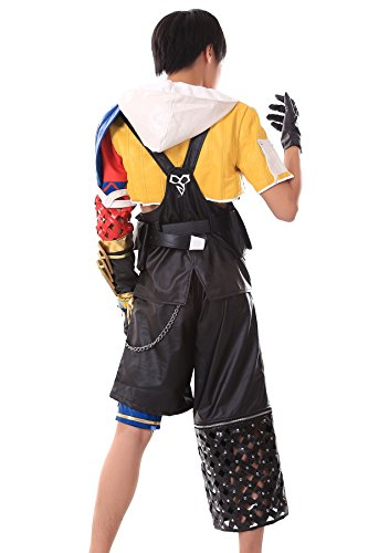 Chong Seng CHIUS Cosplay Costume Tidus Blitzball Uniform 1st Ver Set