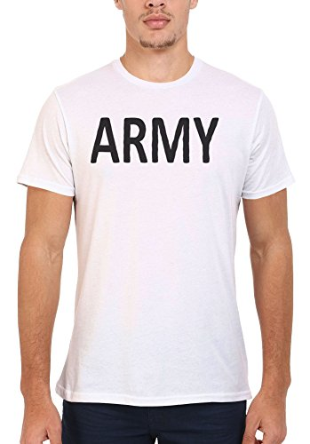 Army Soldier Cool Funny Men Women Damen Herren Unisex Top T Shirt .Weiß