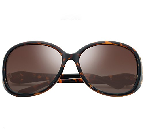Unbekannt XUEP Sonnenbrillen Sonnenbrille Brille Retro Zustrom Von Menschen War Dünn UV Driving Glasses Shades Polarized Sport-Sonnenbrille (Color : Amber Box Gradient Sheet)