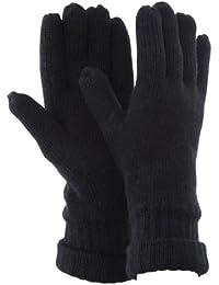 FLOSO - Gants tricotés thermiques Thinsulate (3M 40g) - Homme